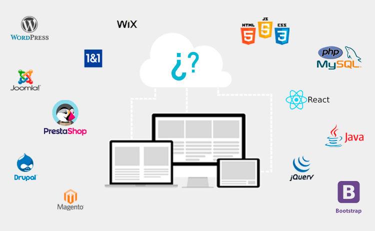 ¿Qué tipo de página Web elegir?