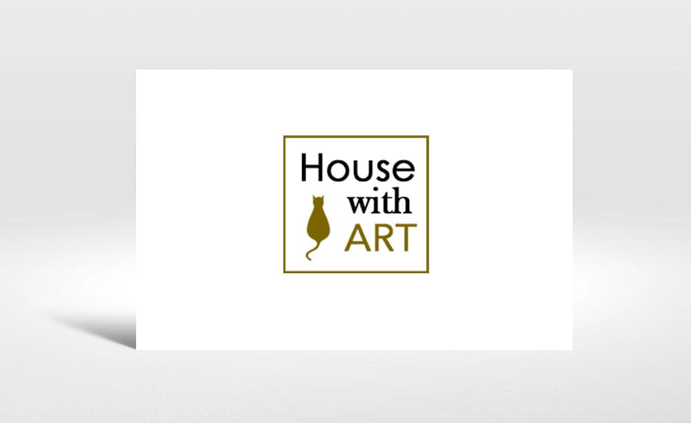 Logotipo House Whith Art, Diseño grafico web